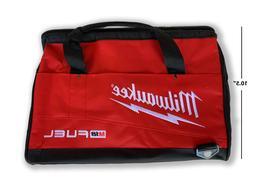 "New LG Canvas Tool Bag Milwaukee 16""x10.5""x10"" tool gym gol"