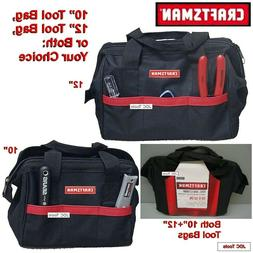 "Craftsman 10"" and 12"" Tool Bags - NEW"
