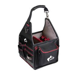 10 in. Electrician Tool Bag with Removable Tool Wall  9 in.