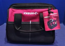 HUSKY 10 in. TOOL BAG W/4 Pockets ~ 600 DENIER WATER RESISTA