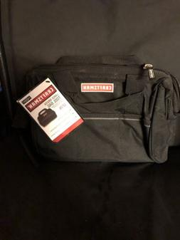 "CRAFTSMAN 10"" Large Mouth Tool Bag with Pockets NEW With T"