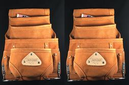 10 pkt Carpenter Leather Electrician Nail & Tool pouch Waist