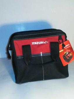 """Husky 10"""" Tool Bag Wide Top Opening Durable Multi-Use New w/"""