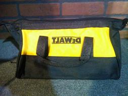 "DeWalt 11"" HD Canvas Contractor Tool Storage Bag-***NEW***"
