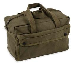 Stansport 1135 Mechanics Tool Bag - Cotton - Olive Drab