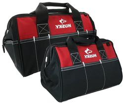Husky 12 and 15 Inch Water Resistant Tool Bag Multi Pack- 2