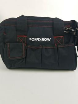 Workpro 12-Inch Close Top Wide Mouth Storage Tool Bag - W136