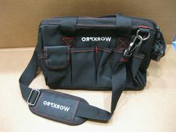 Workpro 12-Inch Wide Mouth Storage Tool Bag W136005A Mainten