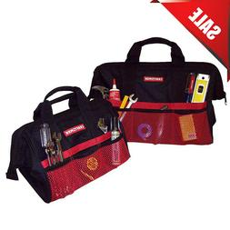 "Craftsman 13"" & 18"" Inch Tool Bag Combo For Hand Power Tools"