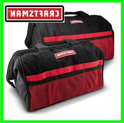 """Craftsman 13"""" & 18"""" Inch Tool Bag Combo For Hand Power Tools"""