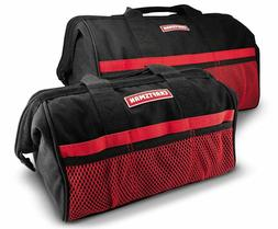 Craftsman 13 in. & 18 in. Tool Bag Combo Organizer Pockets F