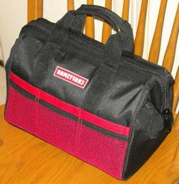 CRAFTSMAN 13 in Wide Mouth Tool Bag Storage Home Auto Repair