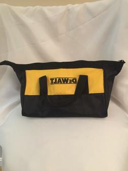 "DeWALT 13""x10""x9"" Heavy Duty Contractor Tool Bag Carrying Ca"