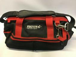 Husky 14 in Large Mouth Tool Bag - smaller size, sku: 188-68