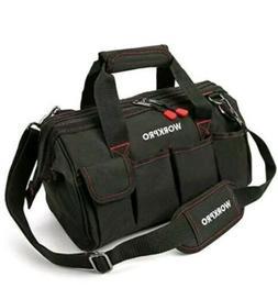 14-inch Tool Bag Multi-pocket Tool Organizer with Adjustable