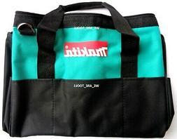 """Makita 14""""x 9"""" x 11"""" Tool Bag/Case 8 Pockets Fr 18V Drill, S"""