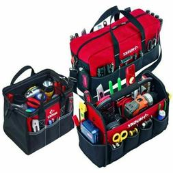 Husky 15 in. Tool Tote, 12 in. Tool Bag, 20 in. Duffle 3-Bag