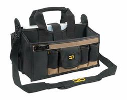 Custom Leathercraft 15 Pocket 16 in. Center Tray Tool Bag, 1