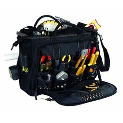 "Custom Leather Craft 1539 58 Pocket - 18"" Multi-Compartment"