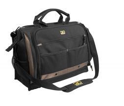 Custom Leathercraft 1539 Multi-Compartment 50 Pocket Tool Ba