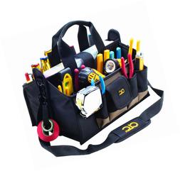 16 Inch Center Tray Tool Bag 15 Pocket Tool Organizers Home