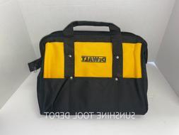 "DeWalt 15"" x 10"" x 9"" Heavy Duty Nylon Contractor Tool Bag"