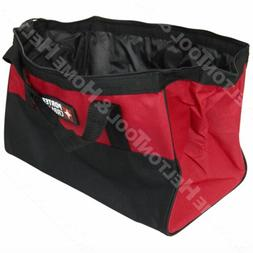 "Porter Cable 16"" x 9"" x 12"" Large Heavy Duty Tool Bag w/ Han"