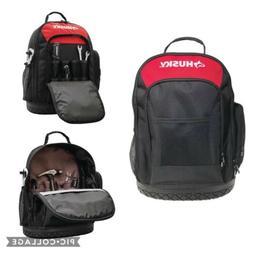 Husky 16in. Tool Backpack Bag Storage Organizer Waterproof R