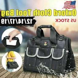 17/19 inch Large Electrician Tool Bags Waterproof  Heavy Dut