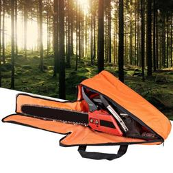 18 Inch Portable Oxford Cloth Chainsaw Chain Cover Woodworki