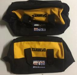 "NEW DEWALT Ballistic Nylon 13"" Tool Bags With 6 Outer Pocke"