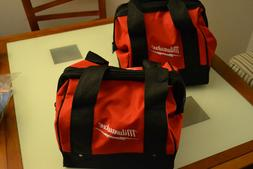 "2 New 11"" Milwaukee Heavy Duty Tool bag for M12 M18 2 tool 1"