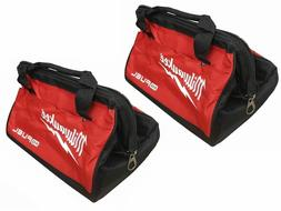 2 New 13 inch Milwaukee Fuel Heavy Duty Contractor Tool Bags