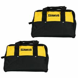 2 New DeWalt 13 Inch Heavy Duty Tool Bags With 6 Pockets 13""