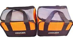 NEW RIDGID TOOL BAGS  CARRYING CASE FOR 18v DRILL IMPACT &
