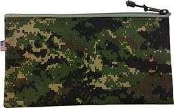 2 pcs Jungle Camo K.T. 5139C Cordura Zipper Tool Bag 7 x 12.