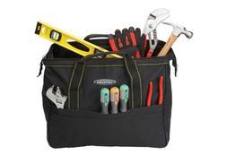 20 in. Rolling Tool Bag Transport Tools Rugged Nylon Organiz