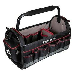 Husky 20 in. Pro Tool Tote with Removable Tool Wall
