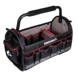Husky 20 in. Pro Tool Tote, Removable Tool Wall Padded Handl