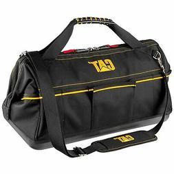 Cat 20 in. Tech Widemouth Tool Bag 12 Pocket Heavy Duty 1200