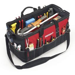 Husky 24 In Tool Shoulder Bag Big Tools Organizer with Strap