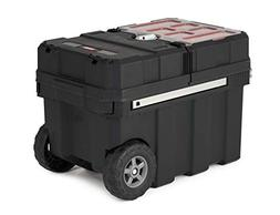 Keter 241008 Masterloader Plastic Portable Rolling Organizer