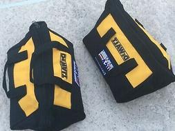 "2X DEWALT Small Tool Bag-Organizer 11""L X 9""W X 7""H  20V/12v"