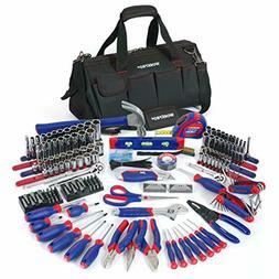 322-Piece Home Repair Hand Tool Kit Basic Household Tool Set