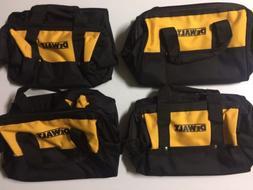 "NEW DEWALT 13"" X 10"" X 10"" Medium Tool Bags w/ 6 Outer Pock"