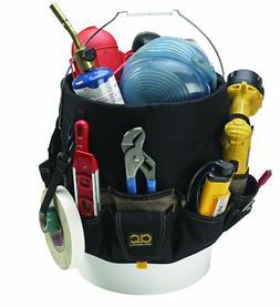 48 Pocket 5 Gallon Bucket Garden Tool Organizer Bag Assorted