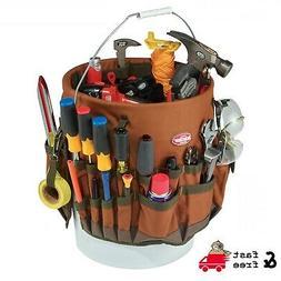 5 gallon Bucket Tool Organizer Bag 30 pocket, 3 Loops Assort