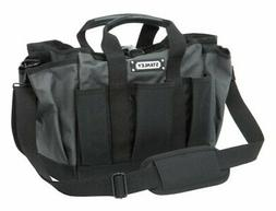 Stanley 511100 Open Mouth Tool Bag Polyester Black/Gray