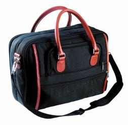 Custom Leathercraft 51114 Brief Case, Ballistic Nylon, 16-In