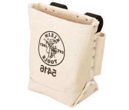 """""""Klein Tools 5416 Bull-Pin and Bolt Bag Canvas,"""""""